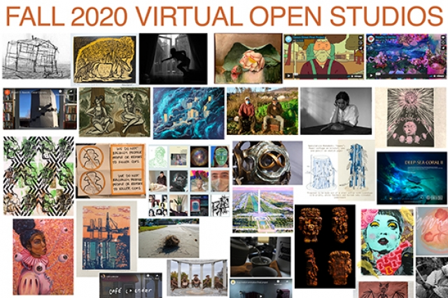 Fall 2020 Virtual Open Studios UCSC Art Department