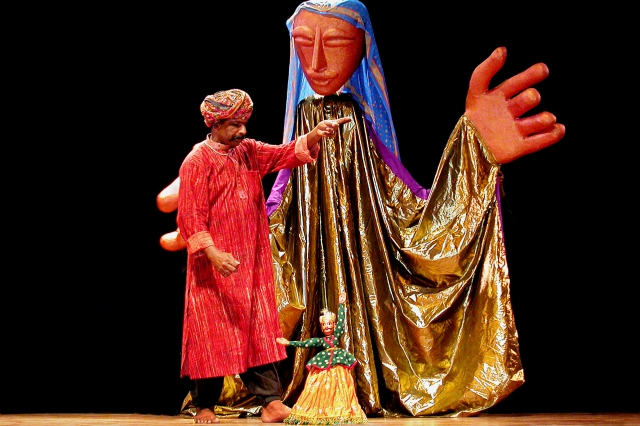 Puran Bhatt, master Rajasthani puppeteer
