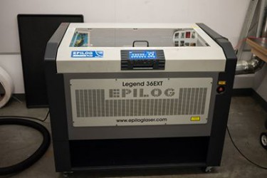 Image of laser cutter