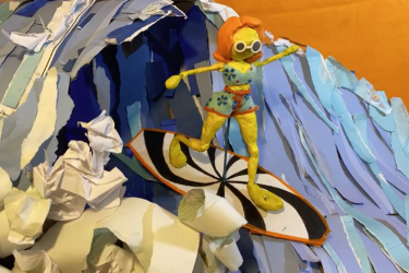 Stop-Motion Animation by Sydney Geisinger
