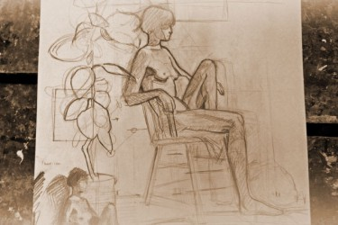 Image: Drop in Figure Drawing