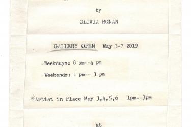 Senior show Oliva Ronan