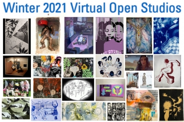 Winter 2021 Open Studios montage