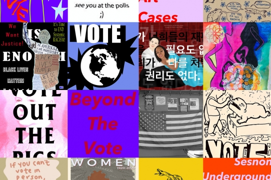 Beyond the Vote exhibition cover image