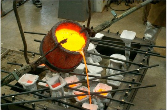 Image of Bronze Foundry at UCSC