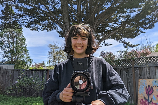 2020 Irwin Scholar, Natalie Del Castillo