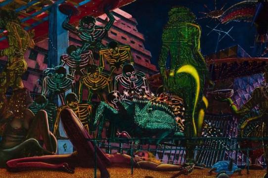 image of eduardo carrillo painting