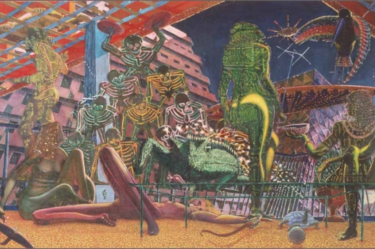 Eduardo Carrillo, Los Tropicanas (1972)