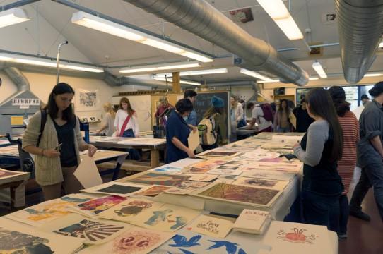 Image of Printmaking Studio