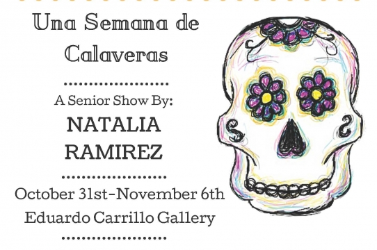 Senior show Natalia Ramirez