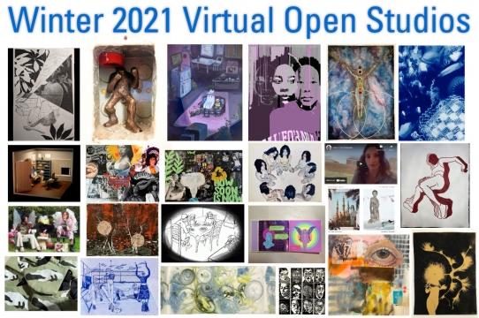 Winter 2021 Open Studios montage