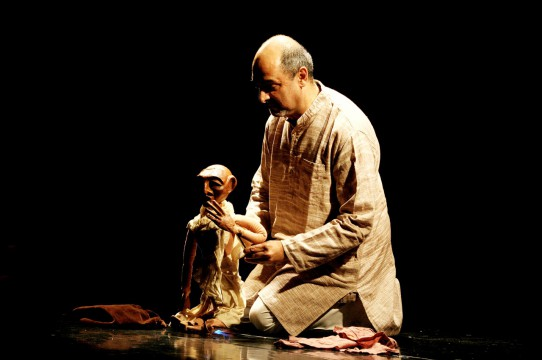 Dadi Pudumjee President of UNIMA International whose work will be represented in the show. (Credit: Ishara Puppet Trust)