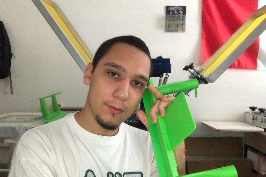 2020 Irwin Scholar, Rodrigo Ramos