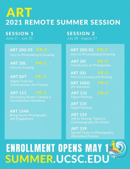 art summer 2021