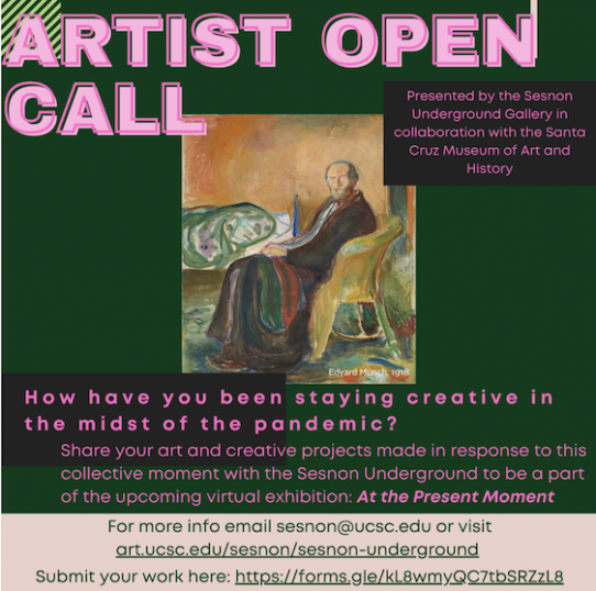 Artist open call for submissions for At the Present Moment exhibition