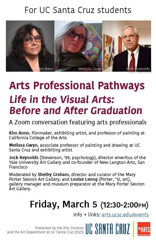 Life in the Visual Arts: Before and After Graduation