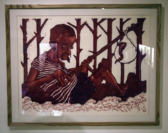 Printmaking image Kevin Patanawong