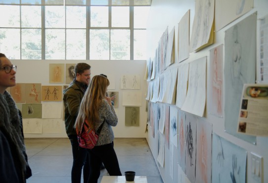 Image Drawings from Fall 2016 Open Studios