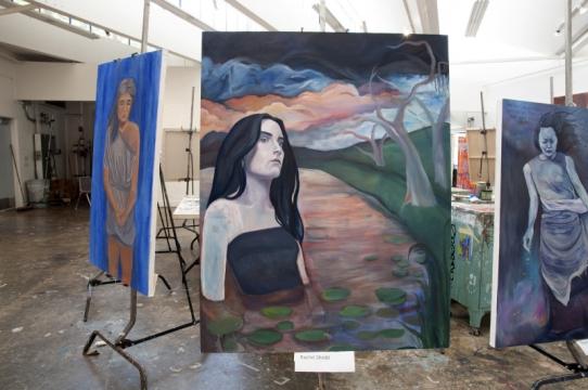 Painting by Rachel Shedd