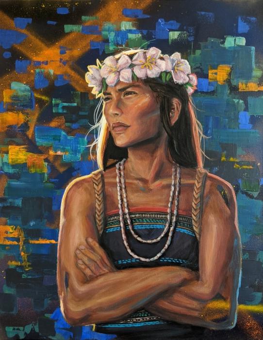 Painting by Sarah Bun