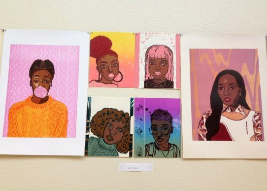 Printmaking by Sari Thomas