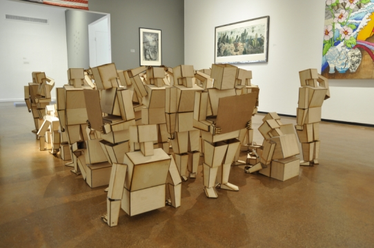 Sculpture Installation by John Contreras