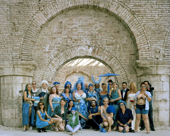 Image Elizabeth Stephens: Blue Wedding