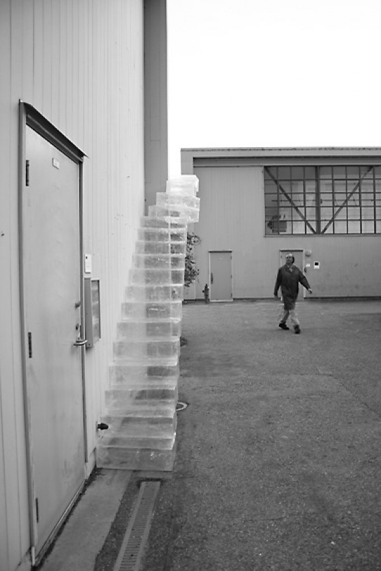 Image of inflated  staircase