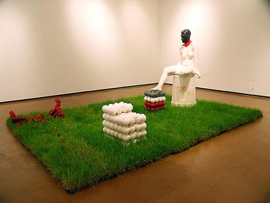 Image of Levi sculpture