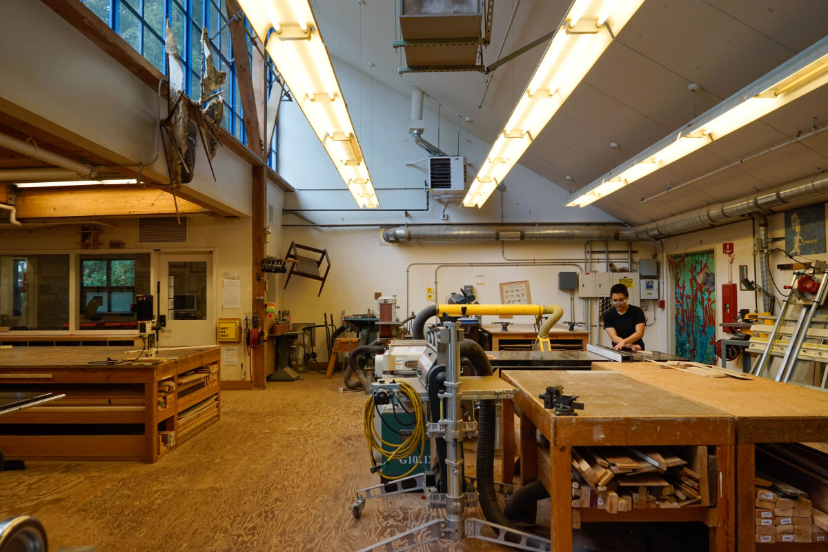 Woodshop | art.ucsc.edu | Art Department, UC Santa Cruz